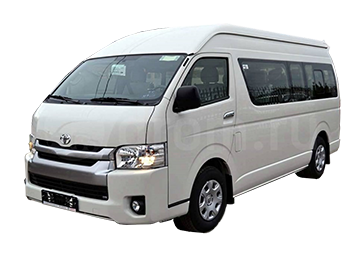 Toyota Hiace Car Rental Christchurch