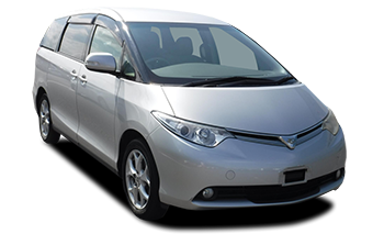 Toyota Estima car rental christchurch