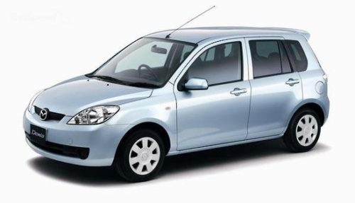 Budget Mazda Demio Car Hire Christchurch