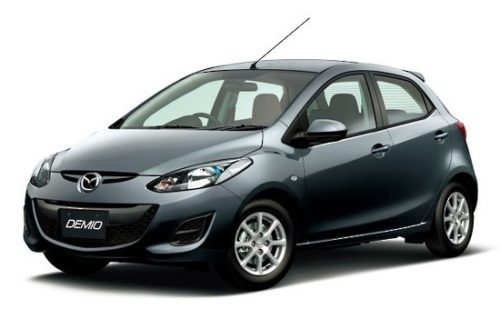 Budget Mazda Demio Car Rental Christchurch
