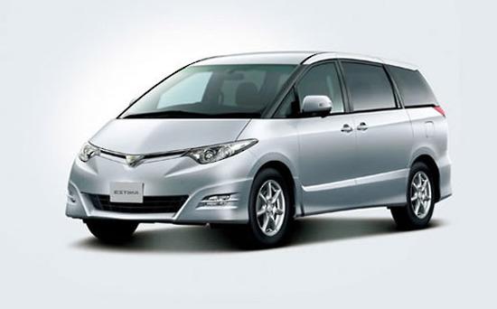 MPV Toyoya Estima Car Rental Christchurch
