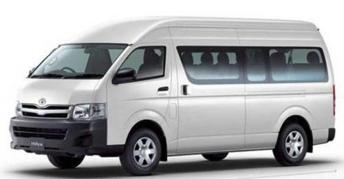 Toyota Minibus Rental Christchurch
