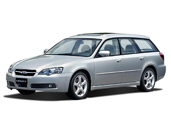 Subaru Legacy Car Rental Christchurch
