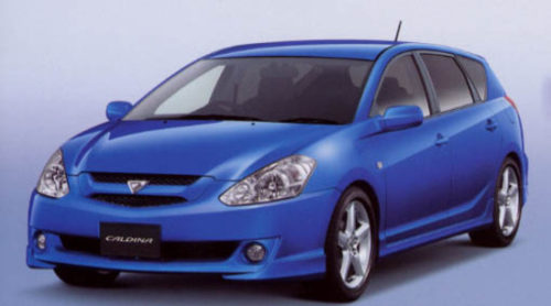 Touring Wagon Toyota Caldina Rental Christchurch
